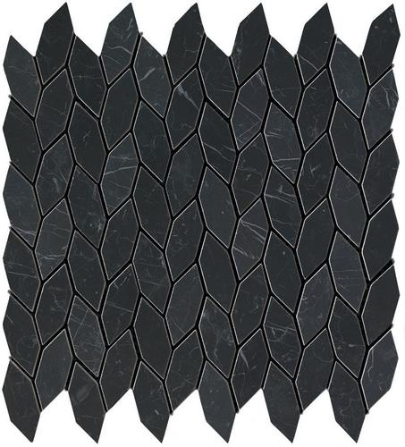 Фото плитки Marvel Nero Marquina  Twist (9STN), размер 30,5x30,5